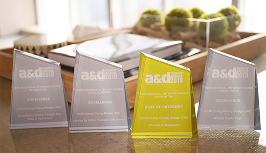 CCD Received Four A&D Trophy Awards