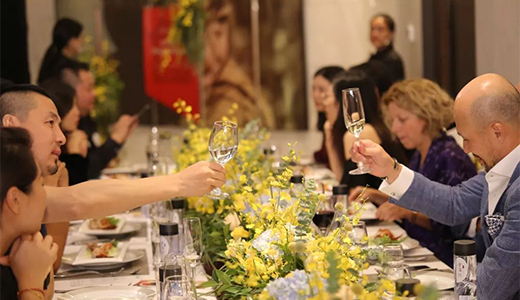 Mr. Joe Cheng Attended Designers Dinner Hosted by AD and  Salone del Mobile Milano Shanghai