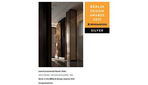 CCD Received Four Berlin Design Awards